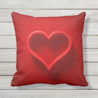 XL almohada 3D - forma de cardíaco con luz y