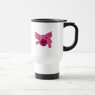 XX dibujo animado divertido del cerdo Tazas De Café