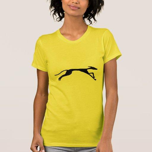 XX diseño el competir con de galgo Camisetas