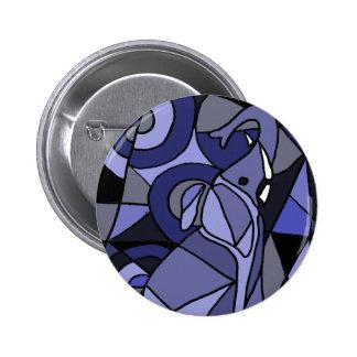 XX elefante del arte abstracto Pins