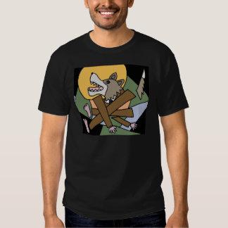 XX transformación del hombre lobo Camisetas
