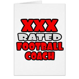 XXX entrenador de fútbol clasificado Tarjeton
