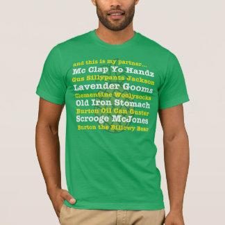 y éste es mi socio… Camiseta del apodo del GUS