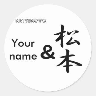 Y Matsumoto Etiqueta
