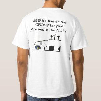 Y testamento Jesús y USTED camiseta