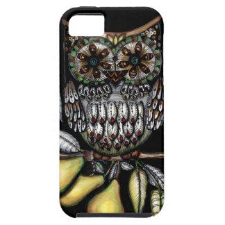… y un búho en un peral iPhone 5 Case-Mate carcasa