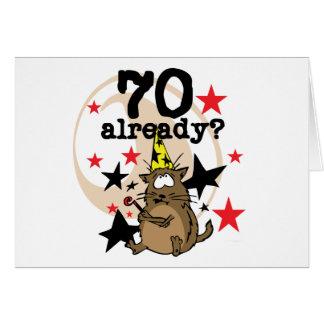 Ya cumpleaños 70 felicitaciones
