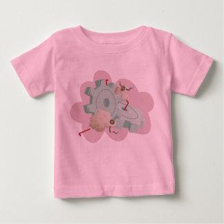 Yacs del espacio del bebé camiseta para bebé