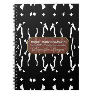 Yah es cuaderno moderno decorativo del carnaval