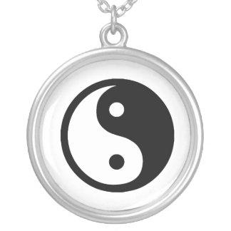 yang ying colgante redondo