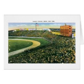 Yankee Stadium, NY Tarjeta De Felicitación