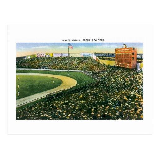 Yankee Stadium, NY Tarjeta Postal