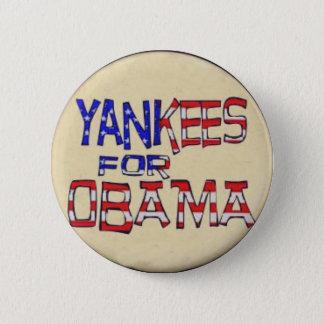 Yanquis para el botón de Obama