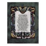 """Yeats """"recibimiento postal del Victorian del"""