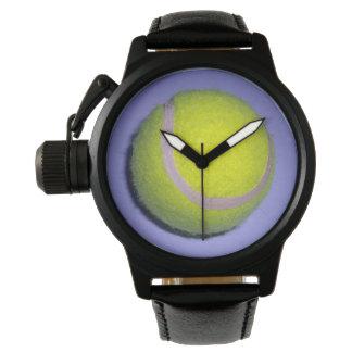 Yellow_Tennis_Ball_Wrist_Watch Reloj De Pulsera