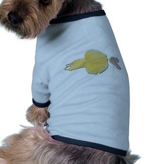 YellowTutuBalletSlippers030111 Camisetas De Perro