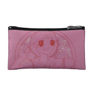 """Yendo abajo"" de Girlie rosado componga el bolso"