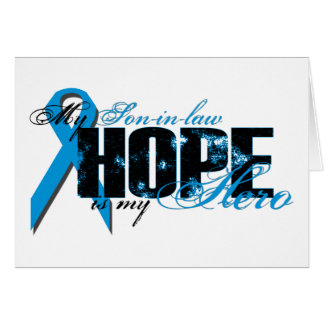 Yerno mi héroe - esperanza de la próstata felicitacion