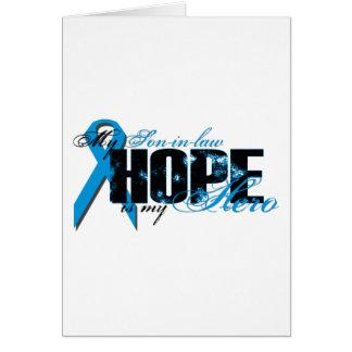 Yerno mi héroe - esperanza de la próstata tarjetas