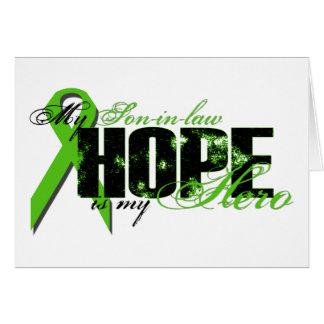 Yerno mi héroe - esperanza del linfoma felicitacion