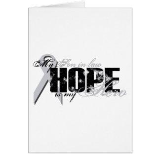 Yerno mi héroe - esperanza del pulmón tarjeta