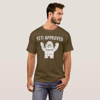Yeti aprobó la camiseta divertida de Bigfoot