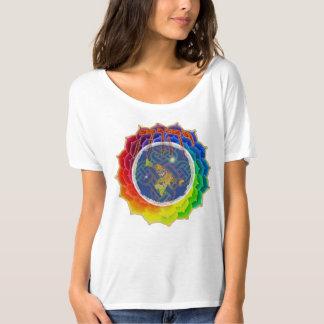 YHWH CUBRE la camiseta desgarbada de EARTH~Canvas