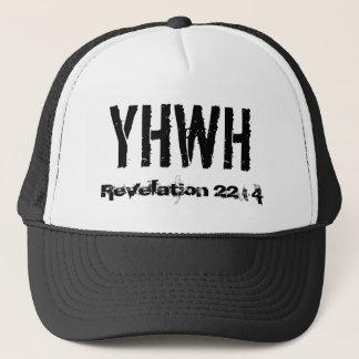 YHWH, revelación 22: 4 Gorra De Camionero