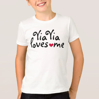 Yia Yia me ama camisa