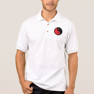 Yin rojo y negro Yang Polo