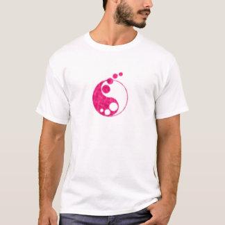 yin rosado yang camiseta