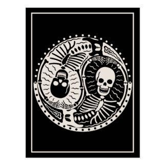 Yin y huesos postal