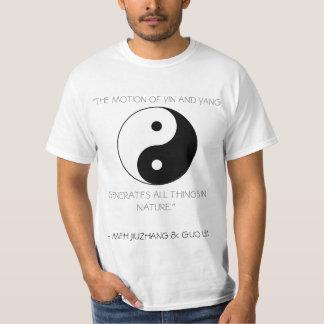 Yin y Yang con cita Camisas