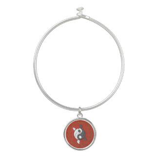 Yin y Yang la pulsera del brazalete de Koi