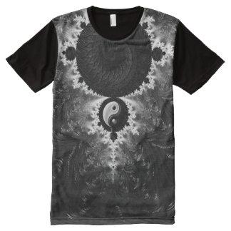 Yin Yang #2 Camiseta Con Estampado Integral