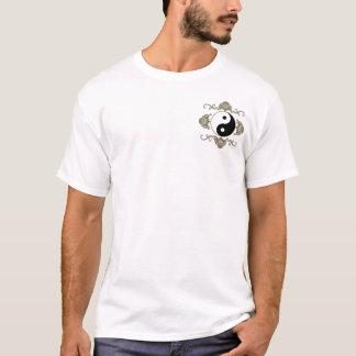 Yin Yang en el bolsillo y encendido la parte Camiseta