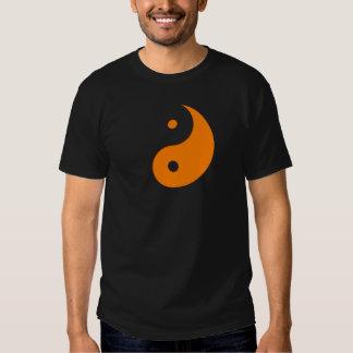 Yin Yang - naranja (1) Camisetas