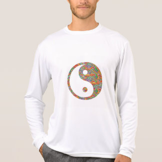 Yin Yang y arte canadiense de la joya del Goldmine Camiseta