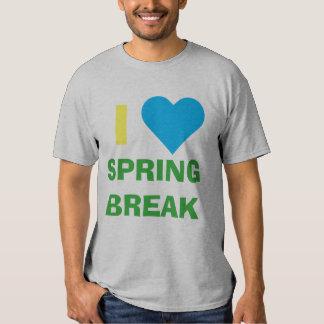 """""""Yo camiseta de las vacaciones de primavera del"""