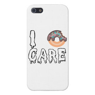 """""""Yo caso de IPhone 5 del Buñuelo-Cuidado"""" iPhone 5 Cobertura"""