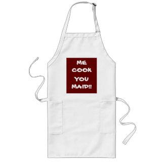 ¡Yo cocinero usted criada! Refranes >Funny en dela Delantal