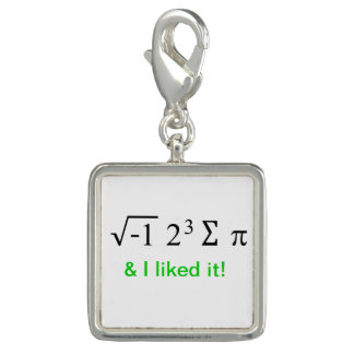Yo comí un cierto encanto de la matemáticas de la dijes con foto