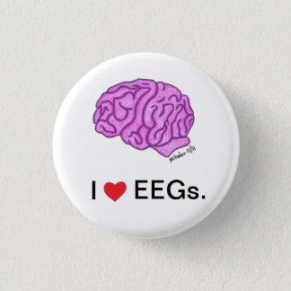 """""""Yo [corazón] botón de EEGs"""""""