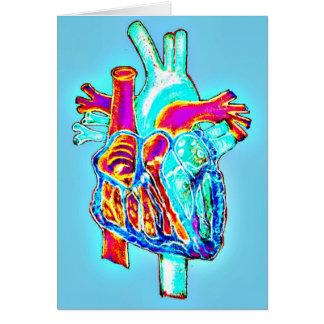 """""""Yo corazón usted"""" tarjeta de felicitación"""