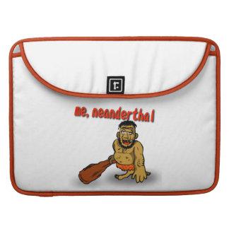 Yo mangas del Neanderthal de MacBook Pro Fundas Para Macbooks