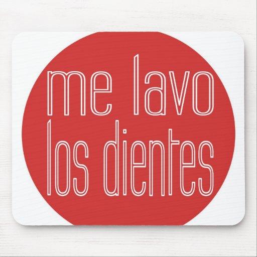 Yo mousepad de Lavo Los Dientes Tapetes De Ratones