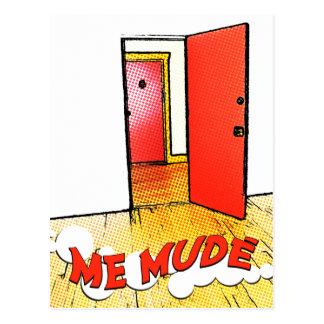 yo mudé: cómica del puerta postal