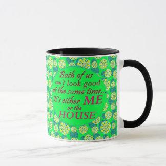 yo o la casa puede mirar la buena taza de café