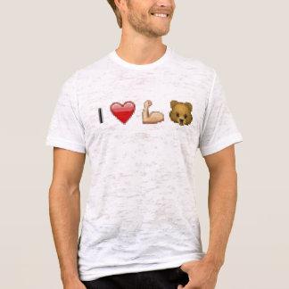 'yo osos del músculo cardíaco camiseta
