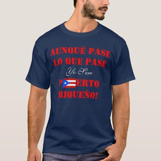 Yo Puerto seco Riqueño, camiseta puertorriqueña